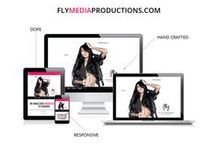 Dope Website Design by Fly Media / At Fly Media Productions we create Dope websites for Fly brands! Here's a sample...