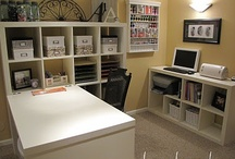 Craft room/home office / by Stacy Baker
