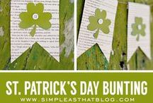 St. Patrick's Day / St. Patrick's Day crafts -- decorations -- food -- games -- printables -- and so much more!