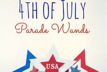 4th of July DIY / 4th of July | diy | crafts | printables | activities | decor | games | recipes | kids | family