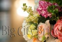 Floral Galore. / Floral Galore | Big City Bride wedding planners have an eye for statement floral pieces. We guide you through each step guaranteeing your planning process will be a breeze. Picking the perfect arrangements, centerpieces, and bouquets are essential components to create your dream wedding!