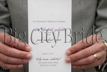 Wedding Signage & Print Material.