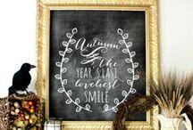 Fall DIY / Fall | DIY | Crafts | Printables | Decor | Home | Wreaths | Autumn
