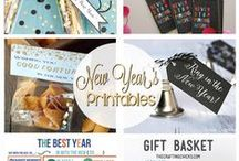 New Year's Eve DIY / New Year's Eve | New Year's Eve DIY | New Year's Eve Crafts | New Year's Eve Parties | New Year's Eve Printables