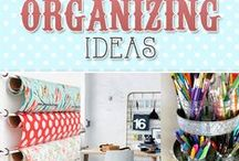 Get Organized / organization | ideas | cleaning | storage | closets | printables | home
