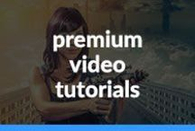 Video based tutorials / Learn how to use Photoshop and Lightroom in these comprehensive video tutorials by leading authors.