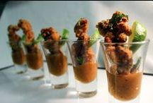 Canapes / Some of our Canapes