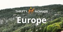 EUROPE / Itineraries, tips, and tricks to exploring Europe affordably! Contributors welcome - max 2 pins per day.