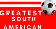 Greatest South American Footballers /  South American Footballers, Ronaldo, Lionel-Messi, Luis-Suárez, Footballers