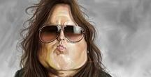 Caricatures of famous people / Caricatures ,caricatures of famous people,caricatures drawing