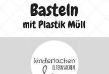 Basteln mit Plastik Müll / DIY Anleitungen und Bastelideen für Kinder und Erwachsene aus alten Verpackungen, Flaschen und Plastik Müll! (recycling, crafts, ideas, kids)