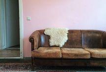 Dutch interior Arnhem / Hi, these are some pictures of my house. Hope you enjoy them! . . . Vintage design, interior design, vinyl, record player, persian rug, diy, underlayment flooring, wooden floor, multiplex floor