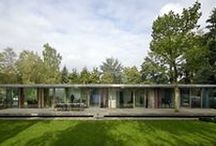 Villa Berkel / In the woods of Veenendaal Paul de Ruiter Architects designed a new villa, where once a bungalow from the 70's was situated.