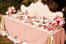 Candy Buffet & Dessert Tables / inspiration for Candy bars, buffets and dessert tables with lots of fab decor and sweet treats