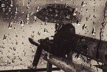 """rain / """"Some people feel the rain, others just get wet"""".  - Bob Marley / by Sophie`s Corner"""
