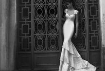 Wedding fashion / Inspiration for wedding dresses, bridal shoes and jewellery