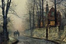 City and country scenes in Art / by Sophie`s Corner