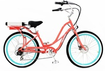 Pedego Step-Thru Comfort Cruiser / The sloping frame makes this electric bicycle especially convenient for individuals who don't want the hassle or worry of having to swing a leg over a taller bike frame.
