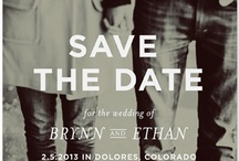 Save The Dates  / by Megan Jones