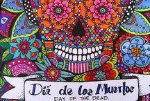 El Día de los Muertos / by Katya Lieb Ebodaghe
