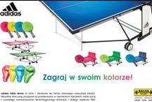 Stoły i akcesoria do tenisa stołowego marki adidas www.table-tennis.pl / Bacha Sport jest przedstawicielem marki adidas Table Tenns w Polsce. Oferujemy stoły i akcesoria do tenisa stołowego najwyższej jakości. Wykonanie i dbałość o szczegóły niemieckich inżynierów stawia produkty do ping ponga marki adidas na najwyższym szczeblu. Wszystkie stoły oraz akcesoria ping pongowe są produkowane w Niemieckich fabrykach, które słyną z wysokiego zaawansowania technologicznego produkcji i dużego zaplecza R&D.