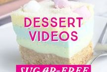 Healthy Dessert Videos / All things sugar free dessert and healthy and clean baking is here! Our ideology of inspire a better life is backed up by our delicious dessert recipes. Our recipes on our Youtube channel are focused on gluten free, low carb/high fat (LCHF), sugar free, and vegan!