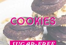 Cookies / Cut the sugar, not the cookies! Bite into our delicious selection of #vegan, #glutenfree, #lchf, and refined #sugarfree cookies!