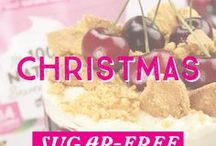 Sugar-Free Christmas Recipes / Stay #sugarfree this Christmas season with our deliciously festive sugar-free treats!