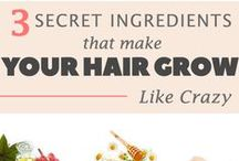 Best Hair Growth Tips / Find out the best home remedies to grow hair fast.