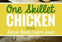 Easy Chicken Recipes / 5 mins Appetizers? Snacks? Breakfast? Lunch? Main Course? Dinner? What else? You can eat chicken anytime! Don't feel hungry while looking at the board ;)