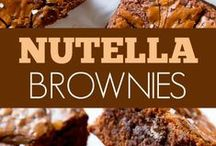 Easy Nutella Desserts / Ummm... Already drooling over the name of Nutella? This board is ahh soo satisfying to see. Featuring the Best n Easy Nutella Dessert Recipes for everyone.