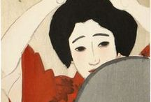 Mirror, Mirror: Reflecting Beauty in Japanese Prints and Paintings