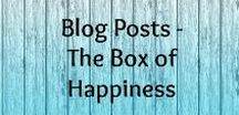 Blog posts | The Box of Happiness / Find all the posts, tips and inspiration from The Box of Happiness blog. Personal Development, Healthy Habits, Happiness, Meditation, Mindfulness, Yoga and Healing.