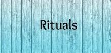 Rituals / Self-care, self-love and new moon rituals and routines for women.