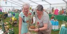 Royal Cheshire County Show 2017 - WI Marquee / WI Marquee showing our members exhibits.  More pictures at http://cheshirewi.org.uk/the-wi-on-show/