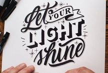 Typography & quotes / Just because they are fun