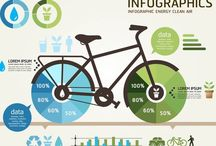Infographics / Infographics which have inspiring elements
