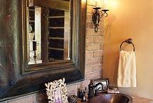 bathroom  / by Melinda Welborn Savoy