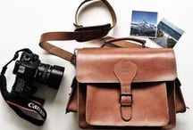 Leather Camera Bags by Grafea / by Grafea