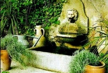 Gardening with Statues and Water  / What beauty this is