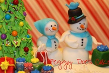 Christmas Cakes / Christmas cakes selected from CakesDecor.com