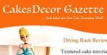CakesDecor Gazette - cake decorating magazine / CakesDecor Gazette is a magazine made by CakesDecor team. Fresh baked news from the world of cake decorating.