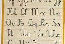 Lettering {alphabets & doodles}