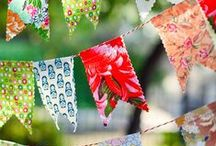 Buntings {garlands & such}