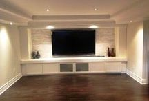 For the home - Basement finishing project / by Jill Miller