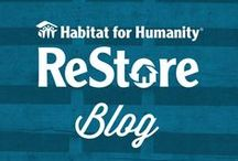 ReStore Blog Posts / Here at the ReStore we have a passion for recycling or repurposing materials. Our blog is full of great projects from our customers, staff, and reviews of the great ideas from Pinterest. Check out our articles by clicking on the photos below. #WhyReStore