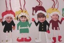 Christmas {classroom arts & crafts}