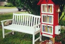 Libraries {little} / little free libraries (community based) ... I wannnnnt one!