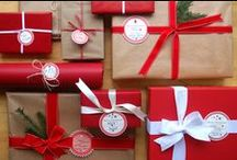[ CHRISTmas gift wrap ] / by Brittney