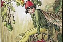 Cicely Mary Barker {fairies & more} / These were the fairies of my childhood. I love the work of Cicely Mary Barker.
